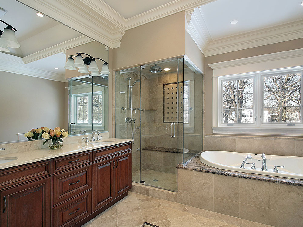 Bathrooms renovations perfect bathroom renovation robert for Home renovation montreal